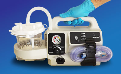 Duet Portable Suction Unit - Hospital Products