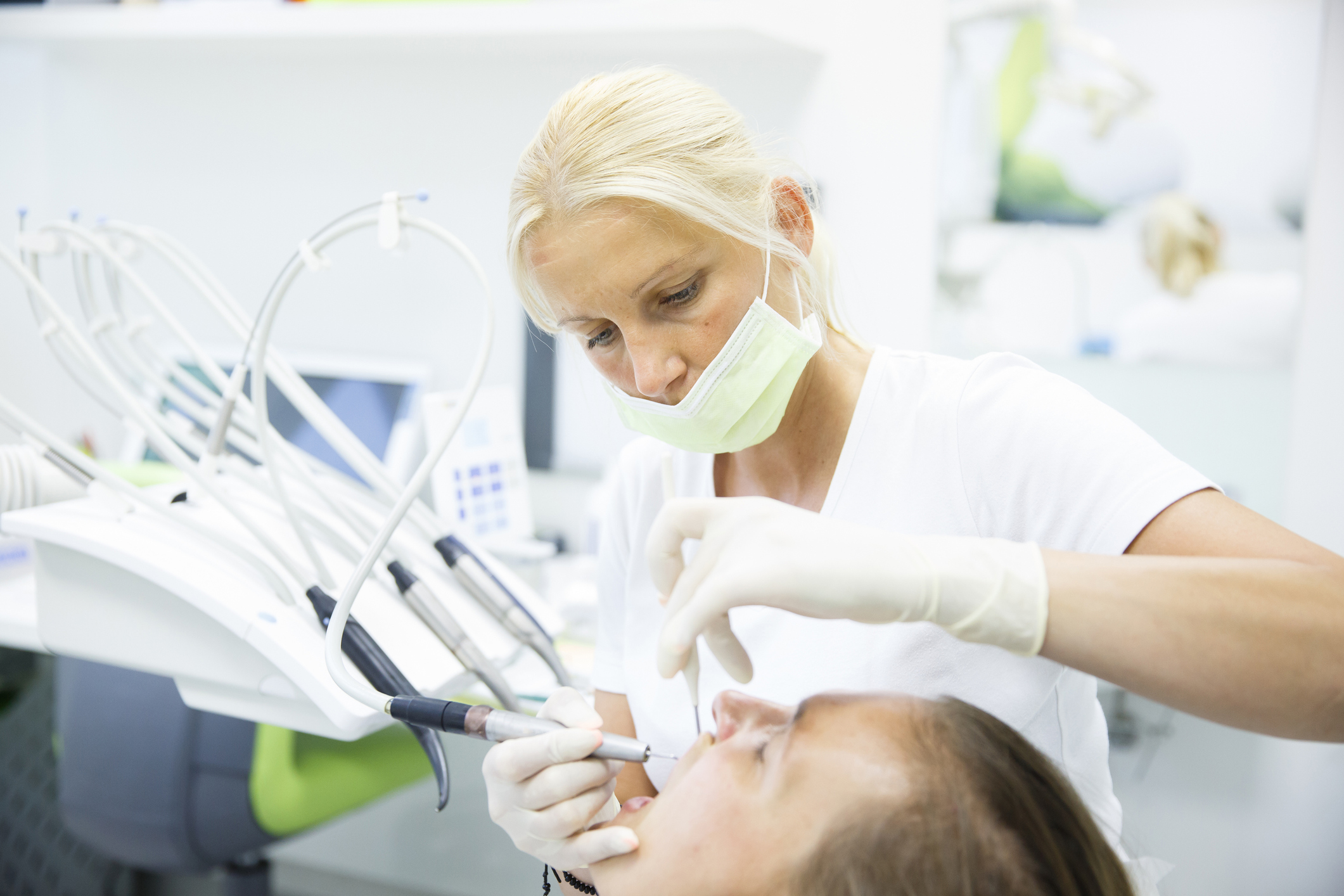Suctioning During Dental Visits Because of COVID-19