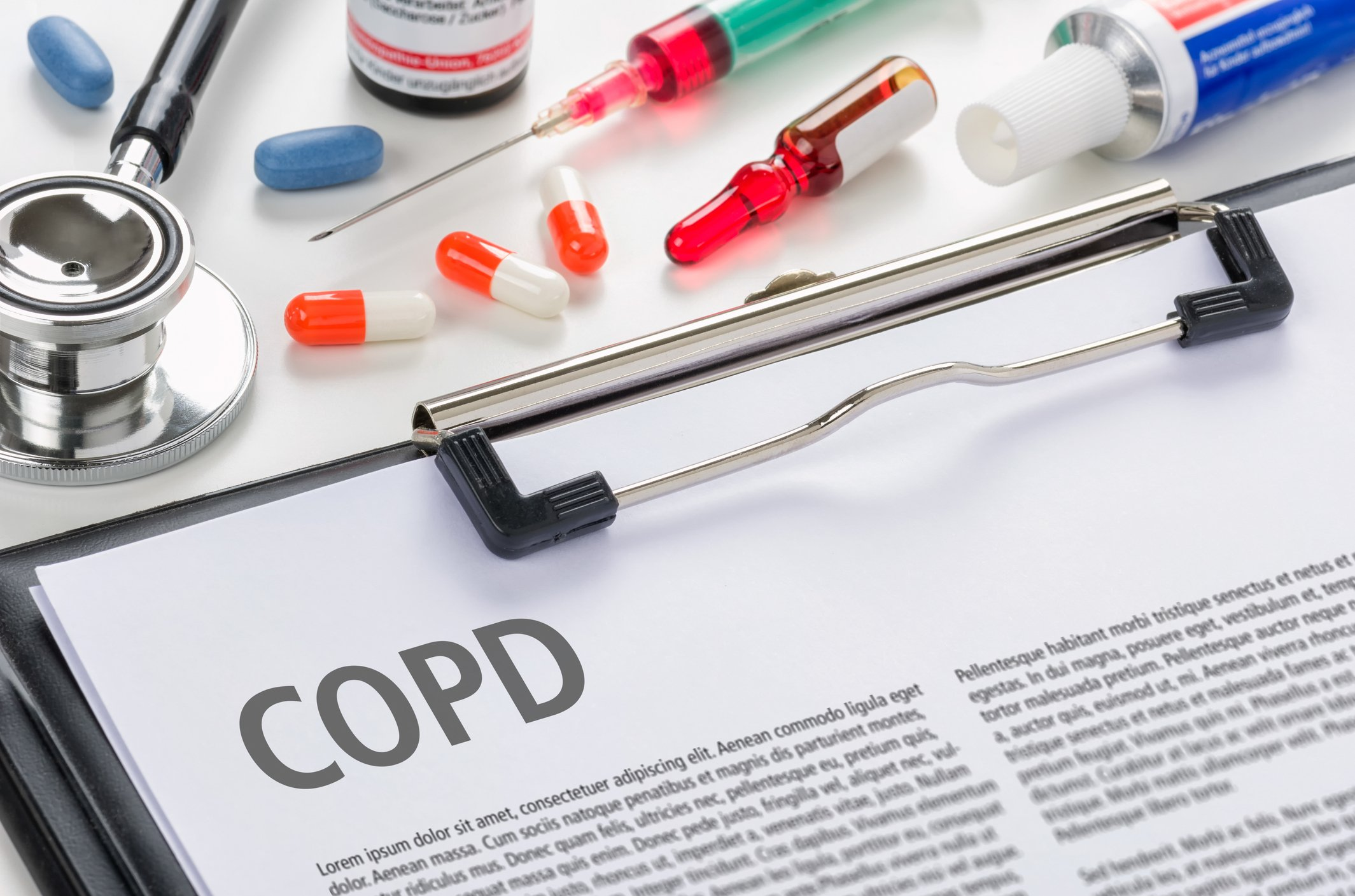 Suctioning a Patient with COPD