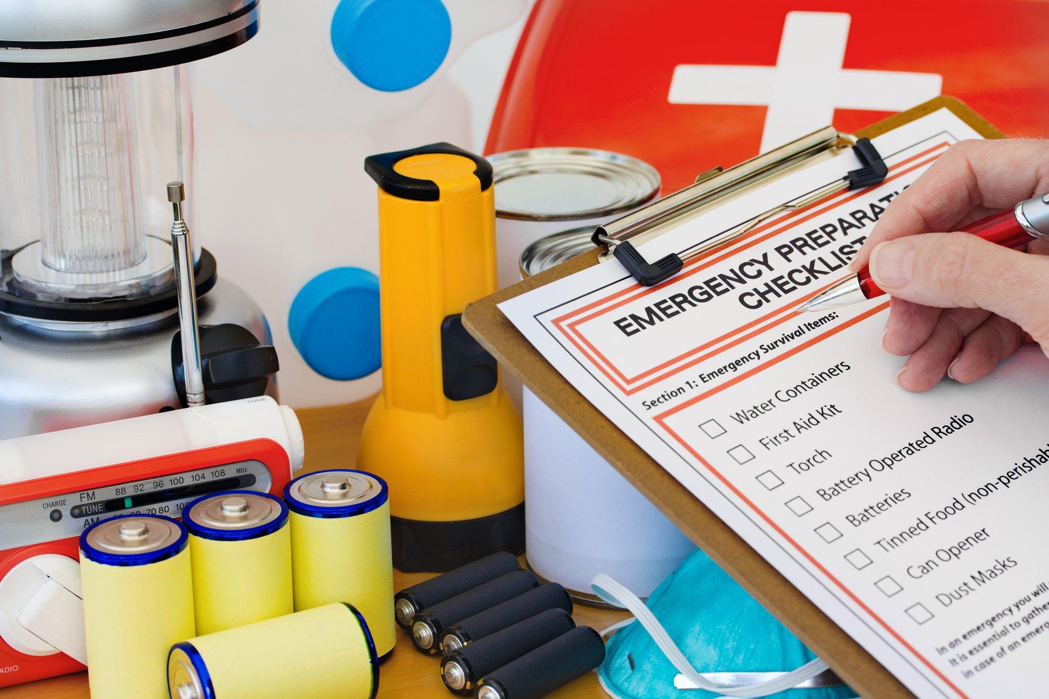 trauma kit supplies